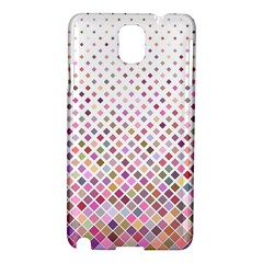 Pattern Square Background Diagonal Samsung Galaxy Note 3 N9005 Hardshell Case by Nexatart