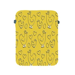 Chicken Chick Pattern Wallpaper Apple Ipad 2/3/4 Protective Soft Cases