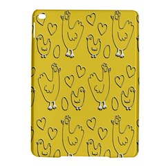 Chicken Chick Pattern Wallpaper Ipad Air 2 Hardshell Cases