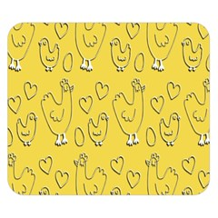 Chicken Chick Pattern Wallpaper Double Sided Flano Blanket (small)