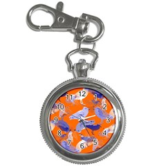 Seagull Gulls Coastal Bird Bird Key Chain Watches