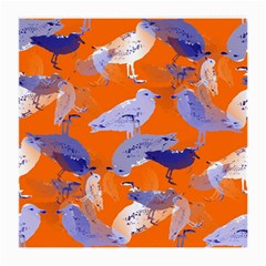 Seagull Gulls Coastal Bird Bird Medium Glasses Cloth (2 Side) by Nexatart