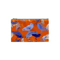 Seagull Gulls Coastal Bird Bird Cosmetic Bag (small)