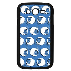 Sheep Pattern Wallpaper Vector Samsung Galaxy Grand Duos I9082 Case (black)