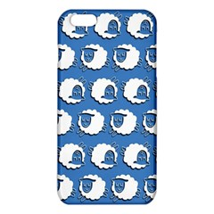 Sheep Pattern Wallpaper Vector Iphone 6 Plus/6s Plus Tpu Case by Nexatart