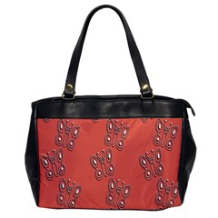 Butterfly Pink Pattern Wallpaper Office Handbags