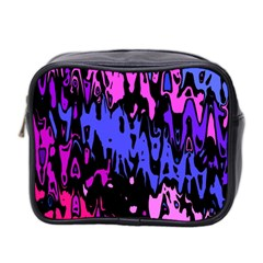 Modern Abstract 46b Mini Toiletries Bag 2 Side by MoreColorsinLife