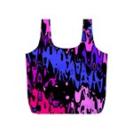 Modern Abstract 46b Full Print Recycle Bags (S)  Back