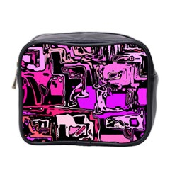 Modern Abstract 47b Mini Toiletries Bag 2 Side by MoreColorsinLife