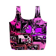 Modern Abstract 47b Full Print Recycle Bags (m)  by MoreColorsinLife