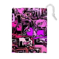 Modern Abstract 47b Drawstring Pouches (extra Large) by MoreColorsinLife