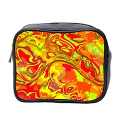 Modern Abstract 44a Mini Toiletries Bag 2 Side by MoreColorsinLife