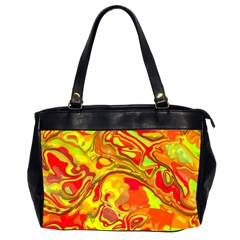 Modern Abstract 44a Office Handbags (2 Sides)  by MoreColorsinLife