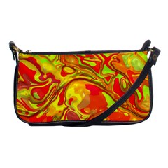 Modern Abstract 44a Shoulder Clutch Bags by MoreColorsinLife