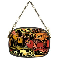 Modern Abstract 47c Chain Purses (two Sides)  by MoreColorsinLife