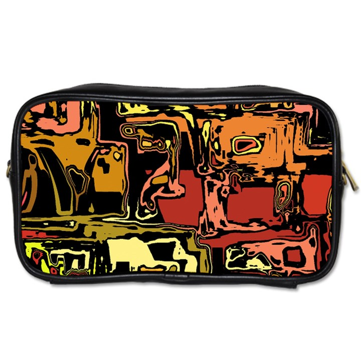 Modern Abstract 47c Toiletries Bags 2-Side