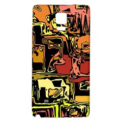 Modern Abstract 47c Galaxy Note 4 Back Case by MoreColorsinLife