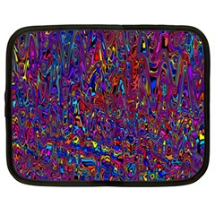 Modern Abstract 45a Netbook Case (xxl)  by MoreColorsinLife