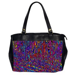 Modern Abstract 45a Office Handbags (2 Sides)  by MoreColorsinLife