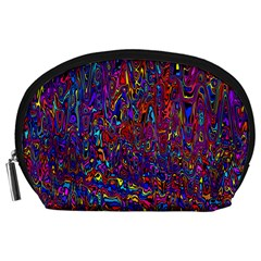 Modern Abstract 45a Accessory Pouches (large)  by MoreColorsinLife
