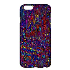 Modern Abstract 45a Apple Iphone 6 Plus/6s Plus Hardshell Case by MoreColorsinLife