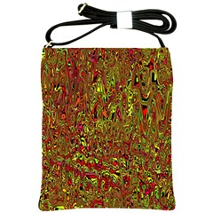 Modern Abstract 45c Shoulder Sling Bags by MoreColorsinLife