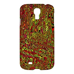 Modern Abstract 45c Samsung Galaxy S4 I9500/i9505 Hardshell Case by MoreColorsinLife