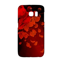 Cherry Blossom, Red Colors Galaxy S6 Edge by FantasyWorld7