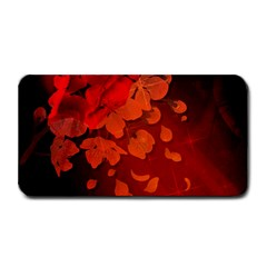 Cherry Blossom, Red Colors Medium Bar Mats by FantasyWorld7