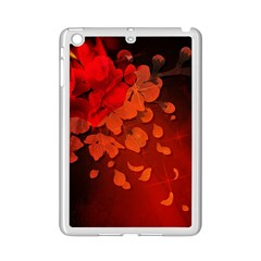 Cherry Blossom, Red Colors Ipad Mini 2 Enamel Coated Cases by FantasyWorld7