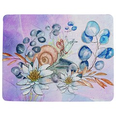 Snail And Waterlily, Watercolor Jigsaw Puzzle Photo Stand (rectangular) by FantasyWorld7