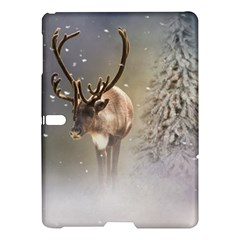 Santa Claus Reindeer In The Snow Samsung Galaxy Tab S (10 5 ) Hardshell Case  by gatterwe