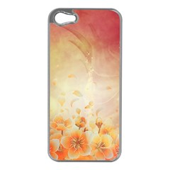Flower Power, Cherry Blossom Apple Iphone 5 Case (silver) by FantasyWorld7