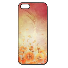 Flower Power, Cherry Blossom Apple Iphone 5 Seamless Case (black) by FantasyWorld7