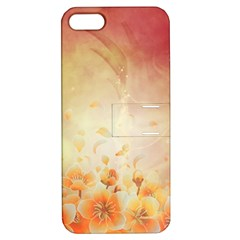 Flower Power, Cherry Blossom Apple Iphone 5 Hardshell Case With Stand by FantasyWorld7
