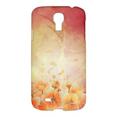 Flower Power, Cherry Blossom Samsung Galaxy S4 I9500/i9505 Hardshell Case by FantasyWorld7