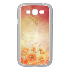 Flower Power, Cherry Blossom Samsung Galaxy Grand Duos I9082 Case (white) by FantasyWorld7