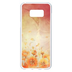 Flower Power, Cherry Blossom Samsung Galaxy S8 Plus White Seamless Case by FantasyWorld7