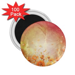 Flower Power, Cherry Blossom 2 25  Magnets (100 Pack)  by FantasyWorld7
