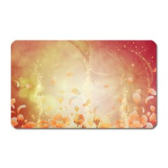 Flower Power, Cherry Blossom Magnet (rectangular) by FantasyWorld7