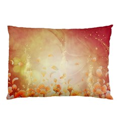 Flower Power, Cherry Blossom Pillow Case (two Sides) by FantasyWorld7