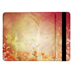 Flower Power, Cherry Blossom Samsung Galaxy Tab Pro 12 2  Flip Case by FantasyWorld7