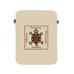 Turtle Animal Spirit Apple Ipad 2/3/4 Protective Soft Cases by linceazul