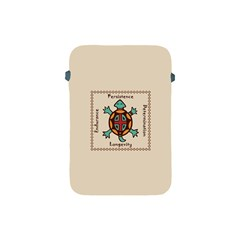 Turtle Animal Spirit Apple Ipad Mini Protective Soft Cases by linceazul