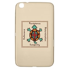Turtle Animal Spirit Samsung Galaxy Tab 3 (8 ) T3100 Hardshell Case  by linceazul
