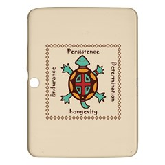 Turtle Animal Spirit Samsung Galaxy Tab 3 (10 1 ) P5200 Hardshell Case  by linceazul