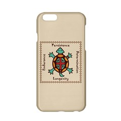 Turtle Animal Spirit Apple Iphone 6/6s Hardshell Case by linceazul