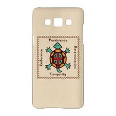 Turtle Animal Spirit Samsung Galaxy A5 Hardshell Case  by linceazul
