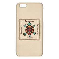 Turtle Animal Spirit Iphone 6 Plus/6s Plus Tpu Case by linceazul