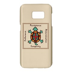 Turtle Animal Spirit Samsung Galaxy S7 Hardshell Case  by linceazul